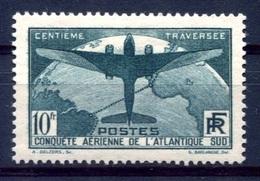 RC 17923 FRANCE COTE 375€ N° 321 TRAVERSÉE DE L'ATLANTIQUE SUD NEUF * TB ( VOIR DESCRIPTION ) - France