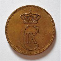 DENMARK 5 ORE 1882. DANEMARK. - Dinamarca