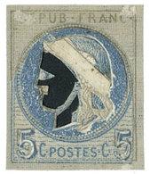 France  : Essai Cérès 5 C. - Proofs