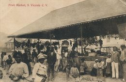 Fruit Market Sao Vicente Cabo Verde  Edit Bon Marché - Cap Vert
