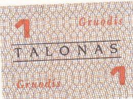 Planche  De 4 Talonas  Lituanie Neuf - Litauen