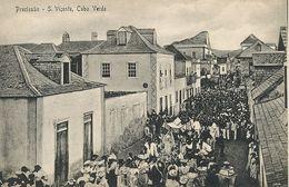 Precissao Sao Vicente Cabo Verde  . Edit Miniati Frusoni. Procession Catholique - Cape Verde