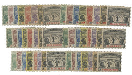 Colonies : Grande Série Coloniale Taxe Palmiers */(*) - France (ex-colonies & Protectorats)