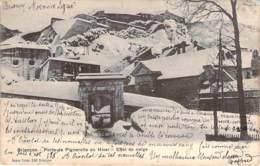 05 - Briançon - Porte De Pignerolle En Hiver, Effet De Neige - Briancon