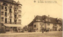 LA PANNE - DE PANNE : Hôtel Splendid Et Casino - De Panne