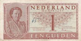 1 Gulden Pays Bas  Plis Central - Pays-Bas