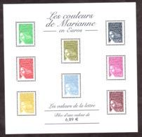 2004 - BF N° 67 - Neuf ** - Les Couleurs De Marianne En Euros - Ungebraucht