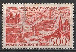 Timbre France Poste Aerienne Aviation Avion Plane N° Yvert PA 27 De 1949 Oblitéré - 1927-1959 Afgestempeld