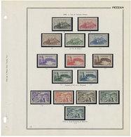Fezzan : Territoire Complet Du N°28/67**/* Et PA N°4/7* - Fezzan (1943-1951)