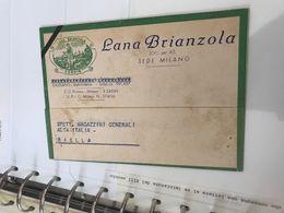 STUPENDA CARTOLINA LANA BRIANZOLA - Modelbouw