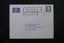 ALGÉRIE - Enveloppe Commerciale De Alger Pour La France En 1958 , Affranchissement Plaisant Français  - L 64179 - Covers & Documents