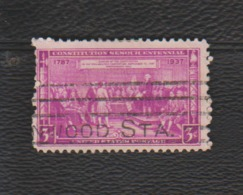 USA. (Y&T) 1936-37 - N°350. *150è Anniversaire De La Constitution Fédérale*   * 3c *  Obl - United States