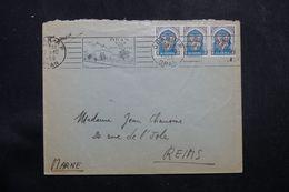 ALGÉRIE - Enveloppe De Oran Pour La France En 1956, Affranchissement Plaisant - L 64185 - Covers & Documents
