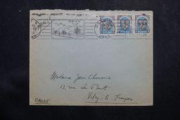 ALGÉRIE - Enveloppe De Oran Pour La France En 1956, Affranchissement Plaisant - L 64186 - Covers & Documents