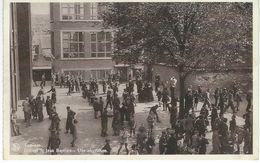 TAMINES : Institut Saint-Jean-Baptiste - Une Récréation - RARE CPA - Cachet De La Poste 1955 - Sambreville