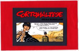 CP CORTO MALTESE, Escale Bordelaise, Hugo Pratt,  BD, Bandes Dessinées - Bandes Dessinées