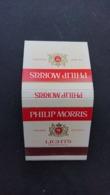 Boîte D'allumettes Philip Morris Lights - Boites D'allumettes
