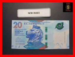 HONG KONG 20 $  1.1.2018  HSBC  P. New   UNC - Hong Kong