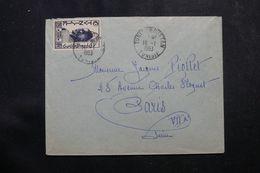 TUNISIE - Enveloppe De Tunis Pour La France En 1953 , Affranchissement Plaisant - L 64197 - Covers & Documents
