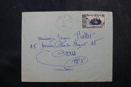 TUNISIE - Enveloppe De Tunis Pour La France En 1952, Affranchissement Plaisant - L 64198 - Covers & Documents