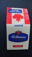 Boîte D'allumettes Rothmans Novotel Toronto - Boites D'allumettes