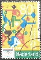 027. NETHERLANDS (80C) 1993  USED STAMP SPORTS, OLYMPICS - 1980-... (Beatrix)
