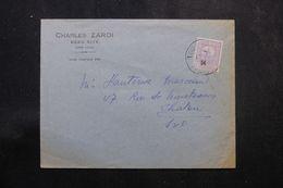 TUNISIE - Enveloppe à Entête De Tunis Pour La France En 1934, Affranchissement Plaisant - L 64201 - Covers & Documents