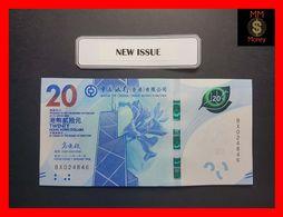 HONG KONG 20 $  1.1.2018  P. New BoC UNC - Hong Kong