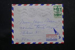 TUNISIE - Enveloppe De Tunis Pour La France En 1953, Affranchissement Plaisant - L 64203 - Covers & Documents