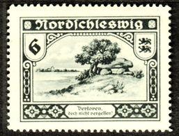 """Nordschleswig Sydjylland 1920 """" Verloren Doch Nicht Vergessen.. """" Vignette Cinderella Reklamemarke Schleswig Jütland - Erinnophilie"""