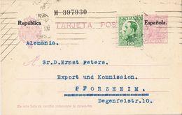 36791. Entero Postal MADRID 1931. Sobrecarga Republica, Num 61 º - Enteros Postales