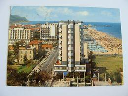 PESARO ALBERGO  HOTEL   MARCHE  VIAGGIATA  COME DA FOTO - Pesaro
