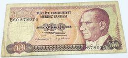 Billete Turquía. 100 Liras. 1984. Original. Muy Buena Conservación - Turchia
