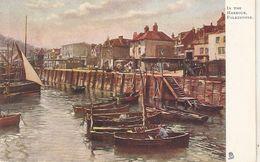 """In The Harbour, Folkestone"" Tuck Oilette Postcard # 1471 - Tuck, Raphael"