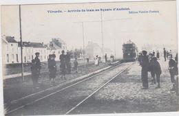 Vilvoorde - Aankomst Van Tram 53 Aan Square D'Andelot (gelopen Kaart Met Zegel) - Vilvoorde