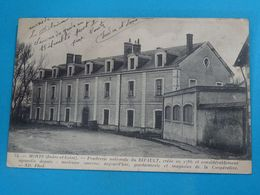 37 ) Monts - N° 34 - Poudrerie Nationale Du Ripault - Anciènne Caserne Et Gendarmerie  - Année 1916 - EDIT - ND - France