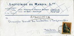 Ambulância Beira Alta 1972  Postmark ,  Marquis Pombal  Stamp . LATICINIOS MAROFA , Figueira Castelo Rodrigo , Pego - Postmark Collection