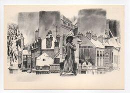 - CPM DIJON (21) - L'hiver à Dijon - Aquarelle De Douglas Gorsline N° 6 - Atelier La Licorne Bleue - - Dijon