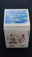 Boîte D'allumettes De Wolinski Fumeur Courtois - Non Fumeur Sympa - Boites D'allumettes