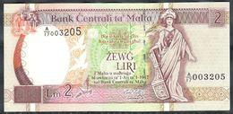 Malta - 2 Liri 1967 (1994) - P45c - Malta