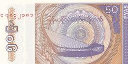 50 Pyas  Birmanie  Neuf - Banknoten