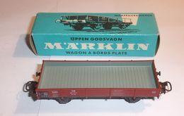 Wagon À Bords Plats 4503 - Marklin - Alimentazione & Accessori Elettrici