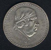 Mexiko, 1 Peso 1947, Silber, UNC - Mexico