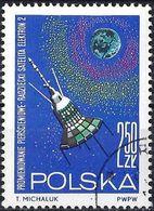 "Poland 1964 - Mi 1558 - YT 1411 ( Satellite ""Elektron 2"" ) - 1944-.... République"