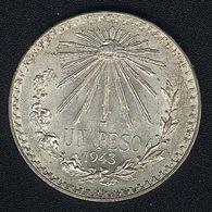 Mexiko, 1 Peso 1943, Silber, UNC - Mexico