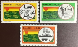 Brazil 1981 Agricultural Development MNH - Ongebruikt