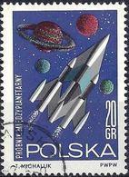 Poland 1964 -  Mi 1553 - YT 1406  ( Space Conquest ) - 1944-.... République