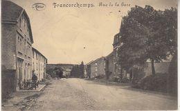 Francorchamps - Rue De La Gare - 1920 - Phototypie Marco Marcovici, Bruxelles - Stavelot