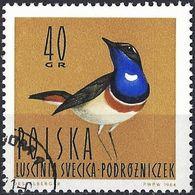 Poland 1964 - Mi 1491 - YT 1348 ( Bird : White-spotted Bluethroat ) - 1944-.... République