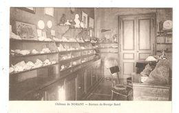 CPA 36 NOHANT Château De  George SAND Bureau  Coquillages Minéraux Buste Sur Des étagères Peu Commune - France